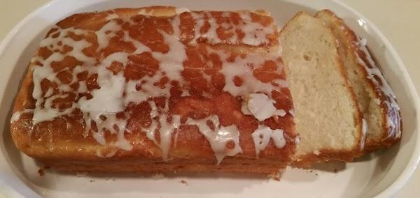 Eggless Lemon Yogurt Bread Recipe