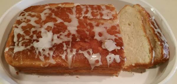 Eggless Lemon Yogurt Bread