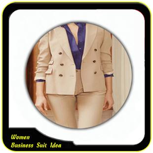 Women Business Suit Idea - náhled
