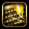 Dazzling gold gem keyboard theme APK