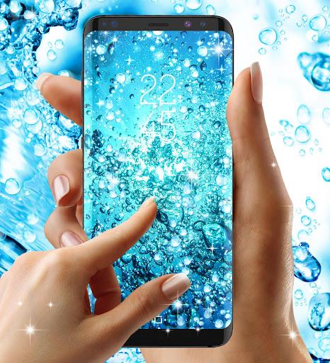 Water drops live wallpaper 8.8 screenshots 7