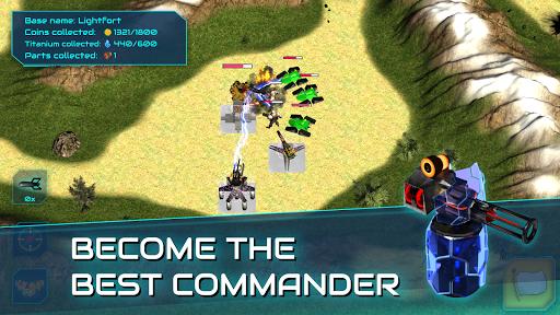 Boulder Base - Futuristic Castle Defense  screenshots 14