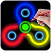 Draw and Spin it 2 (Fidget Spinner)