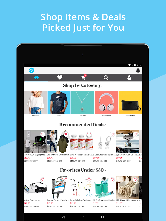 OpenSky Shopping- screenshot