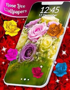 Roses Live Wallpaper - náhled