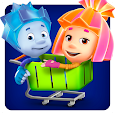 Fiksiki Supermarket Shopping Games for Kids apk