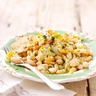 Smoked Cod and Cannellini Beans.