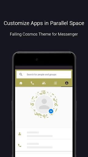 Falling Cosmos Theme-Messenger 1.0.3466 screenshots 3