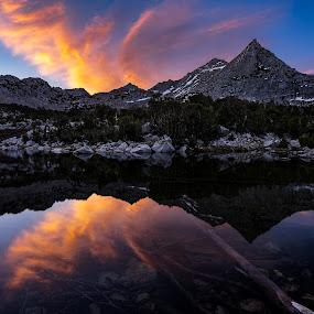 Sunrise In The Mountains by Evver Gonzalez - Landscapes Mountains & Hills