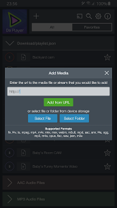 Da Player – Video and live stream player Mod 4.07 Apk [Unlocked] 2
