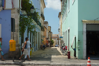 Photo: Streetscape of old Salvador