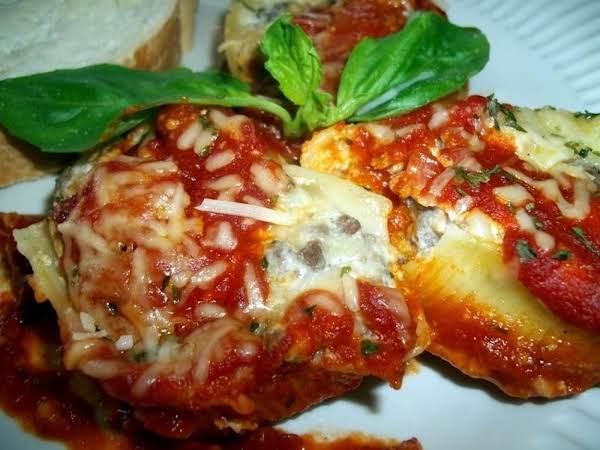 Italian Stuffed Shells ~ Cassies Recipe