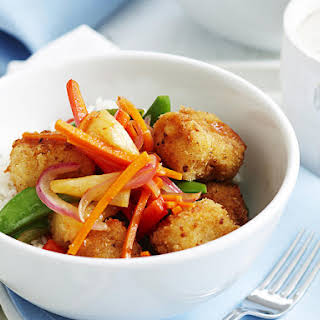 Crispy Fried Fish with Sweet and Sour Sauce.