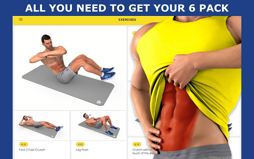 8 Minutes Abs Workout screenshot 13