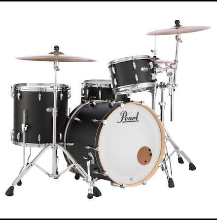 Pearl Masters Maple Complete - MCT923XSP/C339 - Matte Caviar Black