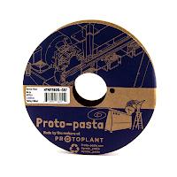 Proto-Pasta Grey Matte Fiber HTPLA - 1.75mm (0.5kg)