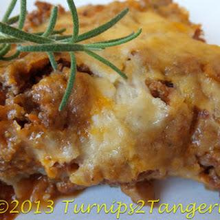 Eggplant Lasagna.