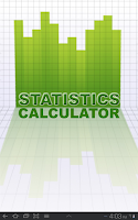 Screenshot of Statistics Calculator