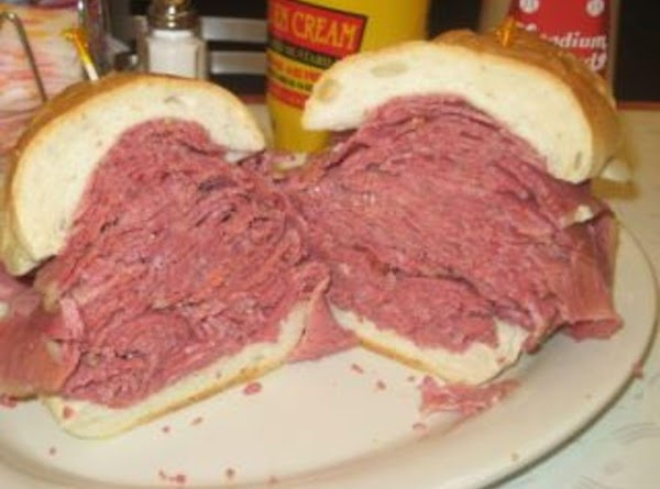 Here is what a  Reuben Sandwich looks like here in Ohio at one...