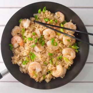 Quick Teriyaki Shrimp And Rice