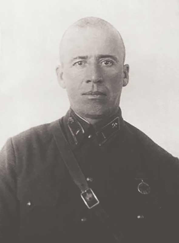 Молев Василий Андреевич, командир 84 осбр