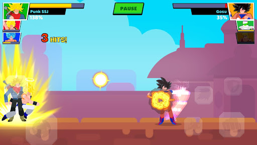 Stick Warriors: Fighter Street VIP - screenshot