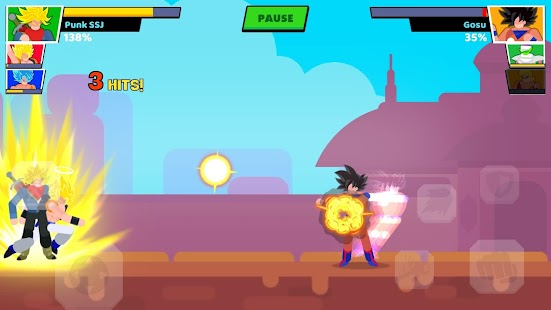 Stick Warriors: Fighter Street VIP Screenshot
