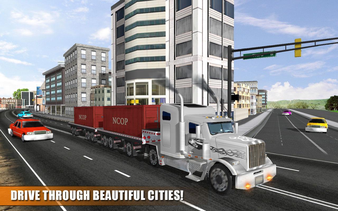 Real-Transport-Truck-Simulator 25