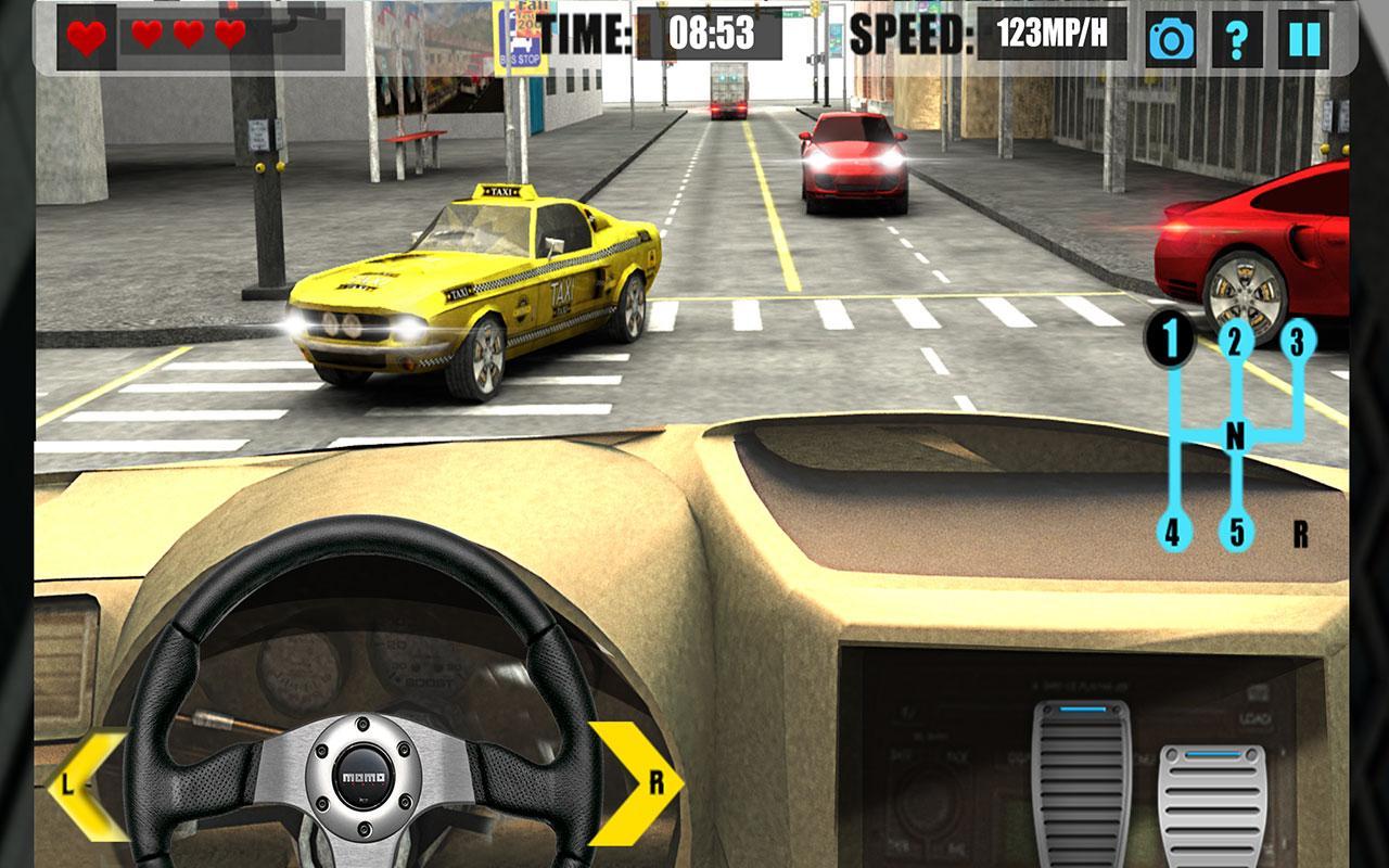 Real manual truck simulator 3d screenshot