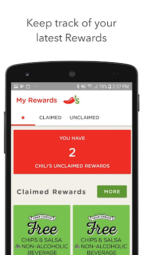 Screenshot for Chilis in United States Play Store