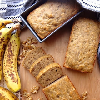 Vegan Banana Bread with Walnuts Recipe