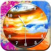 Art Clock Live Wallpaper