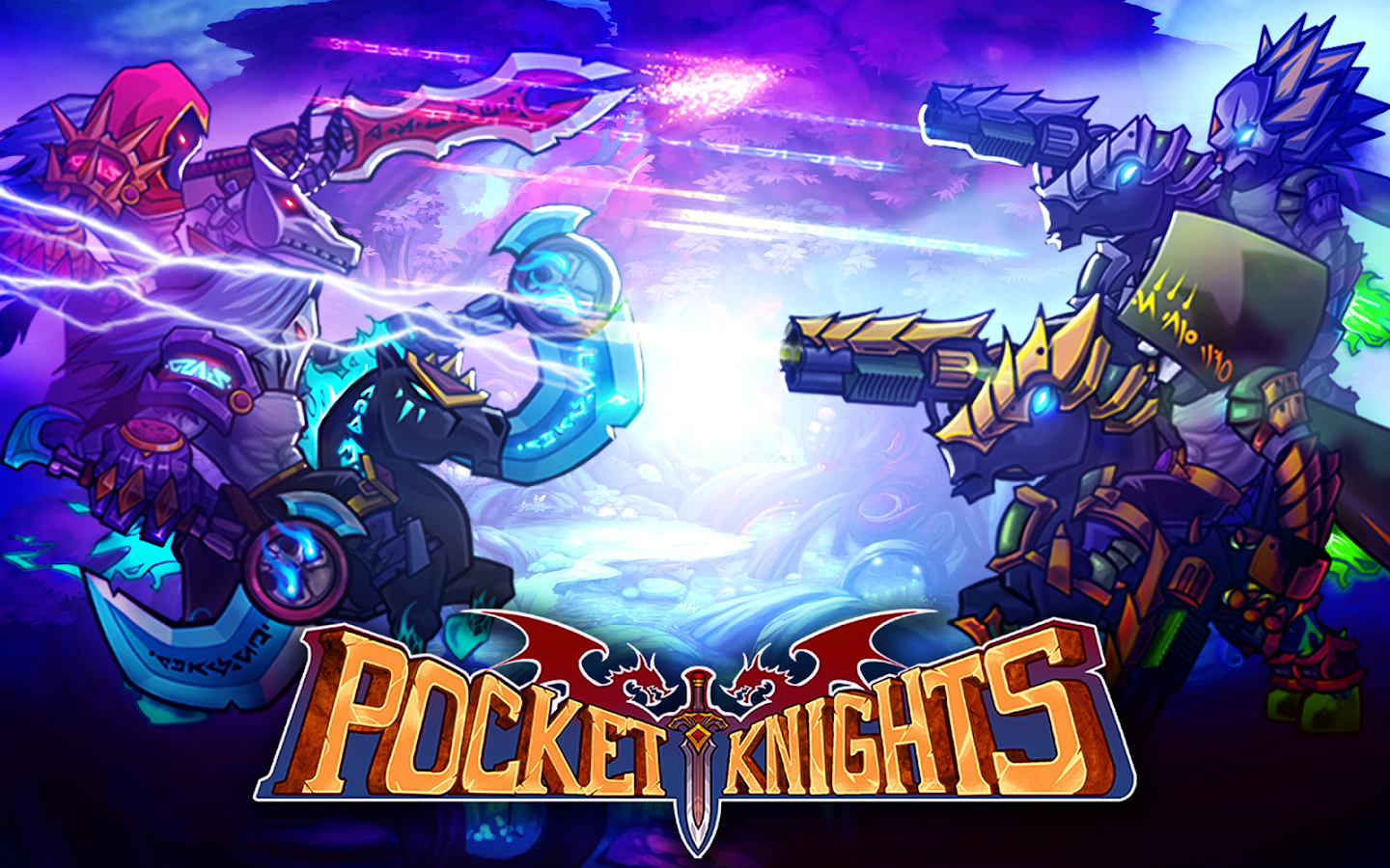 Pocket Knights- screenshot