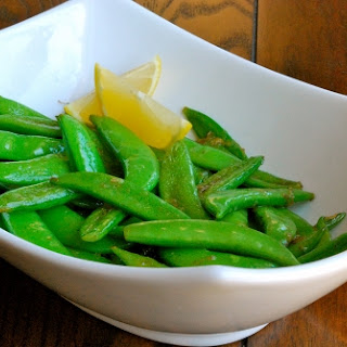 Lemon Snap Peas