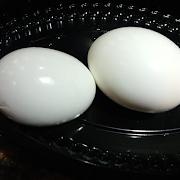 2 Boiled Eggs