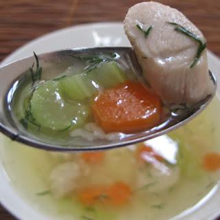 Jewish Chicken Soup.