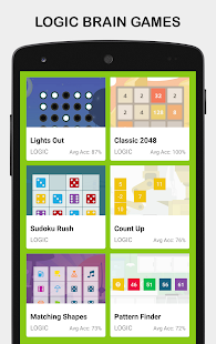 Brainia : Brain Training Games For The Mind - náhled
