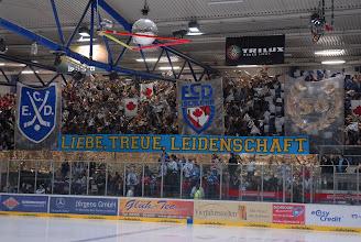 Photo: IEC, Roosters - Hannover, Saisonende: Der ECD wird auch in der Iserlohner Eishalle im Jahr 2009 gefeiert!