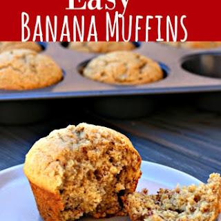 Banana Muffin.