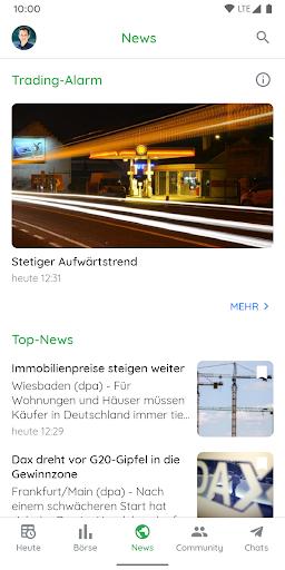 Börse & Aktien - BörsennewsApp  screenshots 5