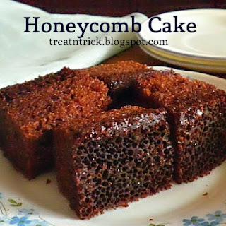 HONEYCOMB CAKE / KEK SARANG SEMUT
