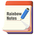 Rainbow Notes - Color Notepad icon