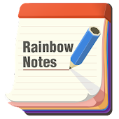 Rainbow Notes - Color Notepad