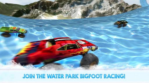 Monster Truck Water Slide Driving Simulator 1.0.0 screenshots 1