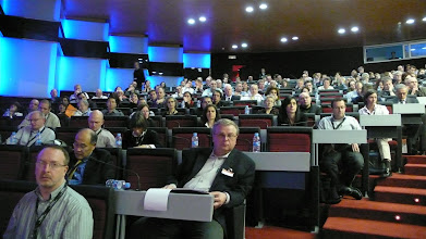 Photo: Attentively listening audience at the 2nd open EBF conference
