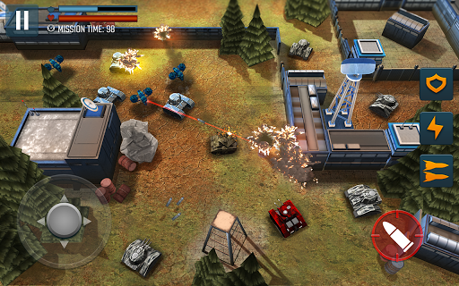Tank Battle Heroes: Modern World of Shooting, WW2  captures d'écran 3