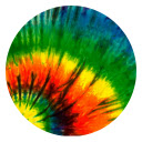 Tie Dye Hot Color HD New Tabs Theme
