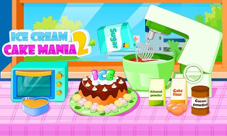 Cooking Ice cream cake mania 2.0.2 screenshot 683139
