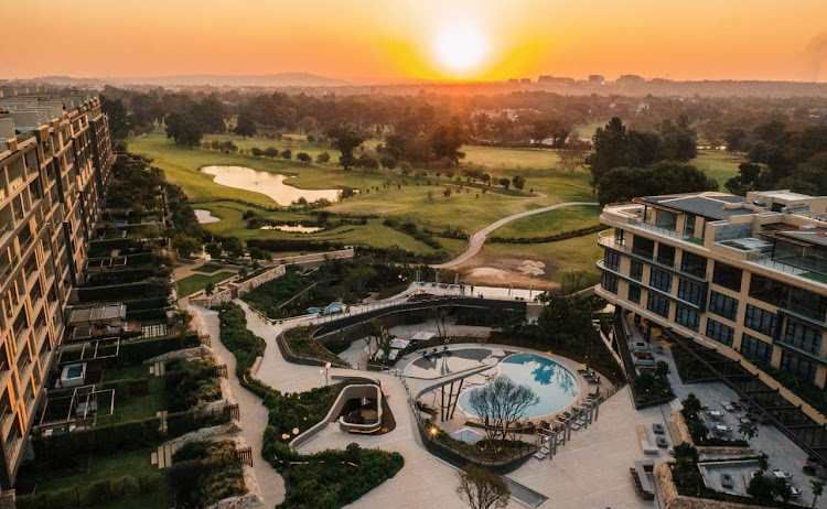 The Houghton Hotel overlooks 64ha of privately owned parkland with an 18-hole golfer's paradise, designed by Jack Nicklaus.