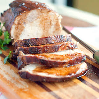 Marinated Pork Loin.